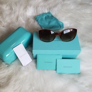 Tiffany & Co heart sunglasses